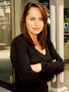 Carly Manning played by Crystal Chappell  (Debut:   1990)    She is the mother of Melanie Jonas.