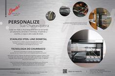 Dometal lança sistemas personalizados para sua Churrasqueira. Confira! #ficaadica,#churrasco,#fimdesemana,#churrasqueiras.