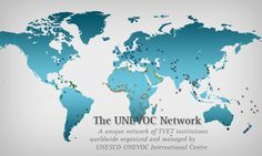 JOIN: UNESCO-UNEVOC NETWORK http://www.unevoc.unesco.org/go.php?q=UNEVOC+Network+-+Home  It is the International Centre for Technical and Vocational Education and Training. Look also at:  European Training Foundation Projects http://www.etf.europa.eu/web.nsf/pages/Projects Its aim is to facilitate the reform of vocational education, training and employment systems in transition countries.  VOCEDplus http://www.voced.edu.au/ It is an international research database for tertiary education.