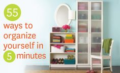 Help getting organized | Get organized with organizational tips from buttoned up | 55 productive things you can do in 5 minutes | Buttoned U...