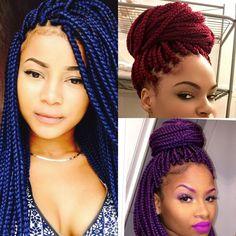 Hair braids African American