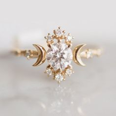 Wandering star diamond ring!