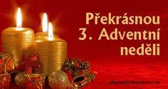 3. Adventní neděle Taper Candles, Floating Candles, Tea Light Candles, Tea Lights, Christmas Time, Merry Christmas, Holiday, Christmas Candles, Candlesticks