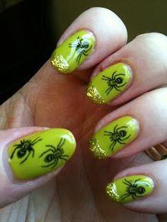 DIY Halloween Nails : Halloween Mani!