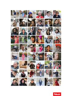 An example of a poster you could make - we used photos from one of our favourite FB pages 'Humans of New York'. A visual census of New York. Looks pretty great we think!