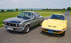 Opel Manta A-Series, and Opel GT