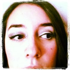 I love cat eyeliner.  I used white eyeliner on the waterline to open my eyes