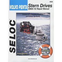 Seloc Service Manual - Volvo/Penta - Stern Drive - 2003-2012 - https://www.boatpartsforless.com/shop/seloc-service-manual-volvopenta-stern-drive-2003-2012/