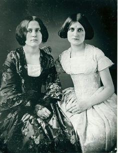 Spiritualists Kate and Maggie Fox, 1852