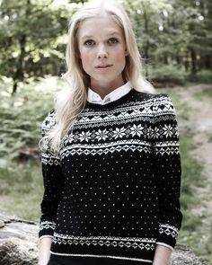 Fair Isle Sweater   Knitting Fever Yarns & Euro Yarns