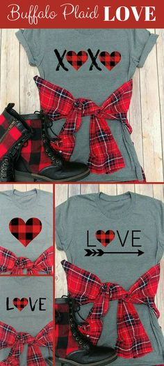 RECONSTRUCT:  Buffalo Plaid, Love or XOXO