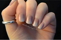 Subtle Business Nails (nails for the workplace)