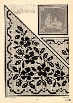 Priscilla Filet Crochet Book No 2. Edited by Mrs. F.W. Kettelle, Augusta, Maine, 1925 - Zosia - Picasa Web Album