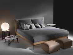 FEEL GOOD Cama by FLEXFORM diseño Antonio Citterio