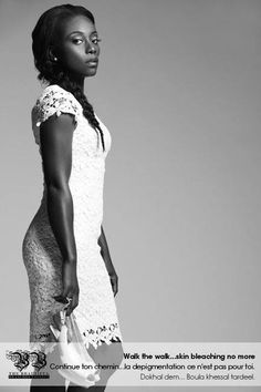 Skin Bleaching Campaign 2013 #Fashion #Beauty #Senegal #Skincare  #Thebbproject #Photography #CelebrateYou #Black #Women #Empower #Gayedelle #Team221