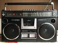 1980s Boombox, Radios, Tape Recorder, Audiophile, Cassette Tape, Sweet Memories, Digital, Tools, Retro