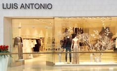 Our Christmas display at Luis Antonio boutique at The Mall of San Juan.