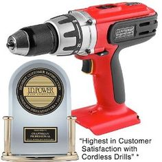 Craftsman Professional 26302 20 volt Lithium ion Cordless Drilldriver with LED Work Light