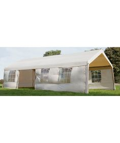 Buy Foldable Garden Marquee With Side Panels At Argoscouk