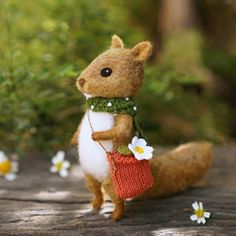 Little squirrel.