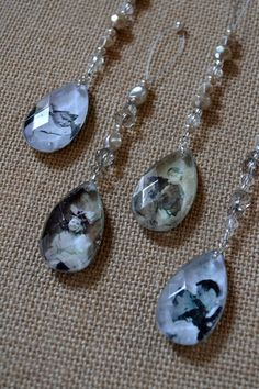 Crystal Pendant Family Photo Ornaments