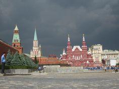 ciel orageux sur la Place Rouge Juin 2014