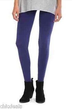 NWT Womens LEGGINGS Purple COTTON ON Long SKINNY Pants Size M