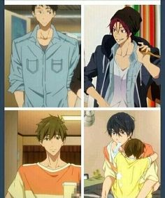 Sourin and Makoharu<<<hmmmm why are guys borrowing each others shirts??? hmmmmmmmmmm