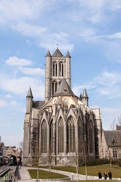 Iglesia de San Nicolas en Gante