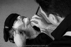 Cut-throat razor time