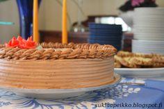Suklaapeikon keittiössä: Suklaakreemikakku