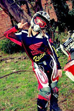 Motocross girl xxx
