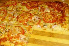 Retete Culinare - Pizza cu sunca Stromboli, Calzone, Hawaiian Pizza, Lasagna, Cheese, Ethnic Recipes, Tart, Lasagne, Stromboli Pizza
