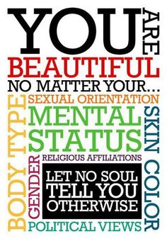 Affirmations You Are Beautiful!