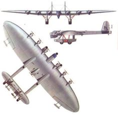 Color 3 View of the Kalinin Communist Giant Trasnport/Bomber Aircraft - Aircraft art - Aircraft Aircraft Parts, Ww2 Aircraft, Military Aircraft, Aircraft Engine, Military Weapons, Aviation World, Aviation Art, Fighting Plane, Air Force Aircraft