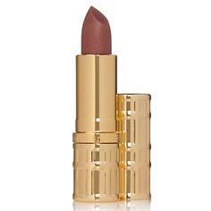 """This Elizabeth Arden lipstick is a Harper's Bazaar summer must have! They say """"natural-looking lip makes a nice transition between the pop colors of the early summer and the reds in store for fall. If you're fair, choose a pinky hue, suggests Freedman. Medium tones look best in gold and honey, and bronzy coppers flatter dark skin. Go one shade deeper than your lips."""""""