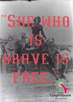 Courtesy of the National Cowgirl Museum and Hall of Fame