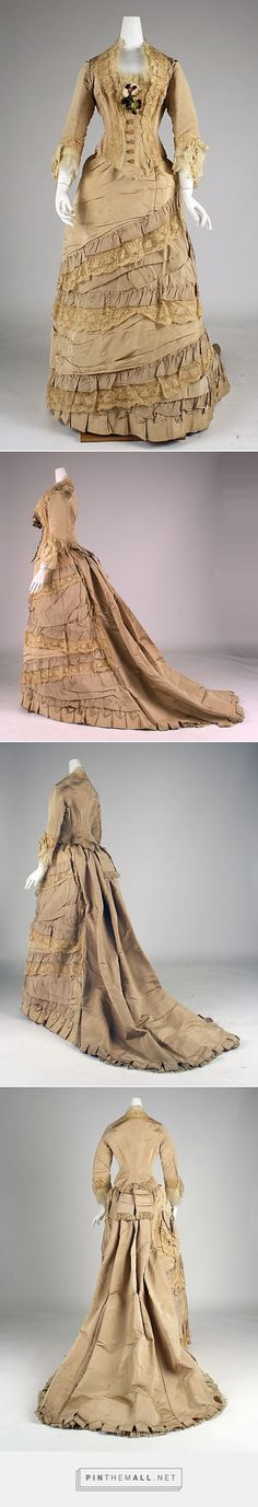 Afternoon dress late 1870s British | The Metropolitan Museum of Art
