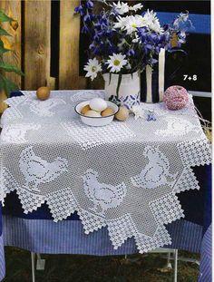 le crochet des8jika: De petites nappes au crochet