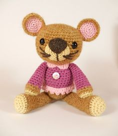 Missy Mouse Amigurumi Crochet Mouse Pattern. by mojimojidesign, $4.50