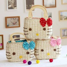 For my little Camille:)) Hello My Love, Hello Gorgeous, Hello Kitty Themes, Pochacco, Hello Kitty Bag, Hello Kitty Wallpaper, Handmade Handbags, Summer Bags, Little Bag