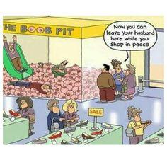 Boob pit