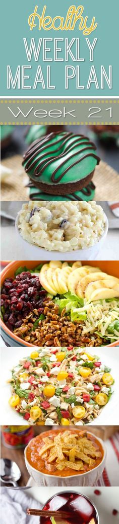 Healthy Weekly Meal Plan #19  Autumn