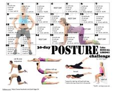 Posture Challenge ~Jodi Higgs~