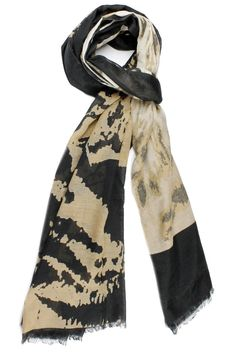 Before you juggle your warm weather wardrobe try diversifying your present pieces with summer scarves. Just one quirky tied scarf can make trending outfit look and feel brand new!  Size: 68'' x 37''  Leopard Print Scarf by Violet Del Mar. Accessories - Scarves & Wraps San Diego California