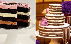 Naked cake: inove ao apostar em um bolo com recheio à mostra - 15 anos - CAPRICHO