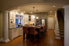 Model Homes Kitchens | ... Model - traditional - kitchen - philadelphia - by Custom Home Group