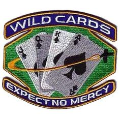 """Space: Above and Beyond - Wildcards (Version 1)  4"""" Patch"""