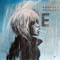 WOMAN IN PROFILE60 x 60 cmVENDU
