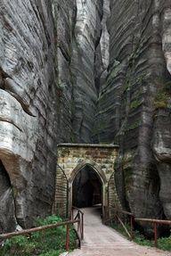 Adrspach-Teplice Rocks Park Entry, Czech Republic